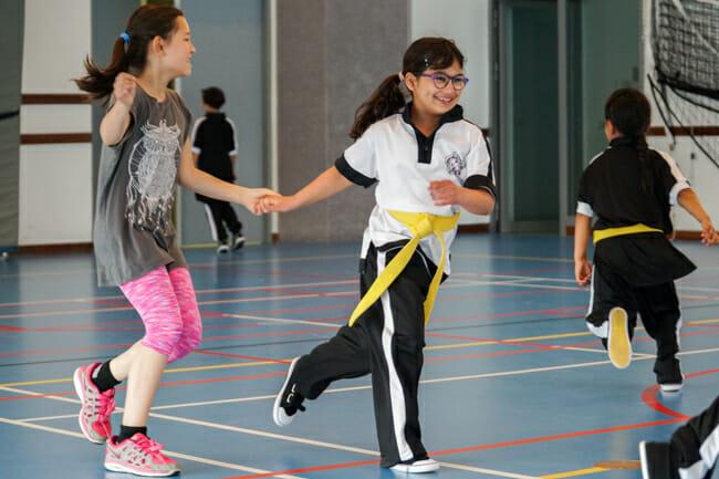 Een Wing Chun Kinder Training draait vooral ook om Plezier